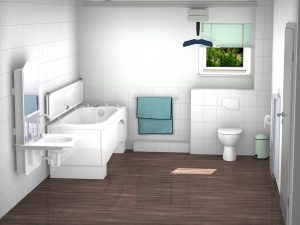 Domestic-bathroom
