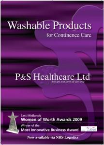 P&S washable product brochure