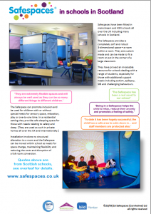 Safespaces in Schools in Scotland_Cover
