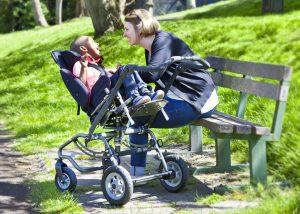 Swirl Rearward - child in pushchair