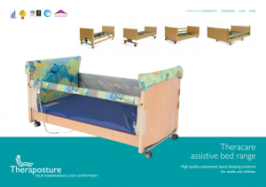 Theracare assistive bed range
