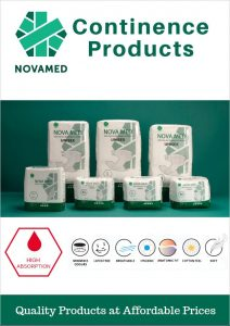 Continence Products - Novamed Brochure
