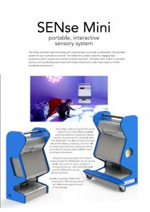SENse Mini-1 product leaflet