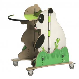 Panda standing frame