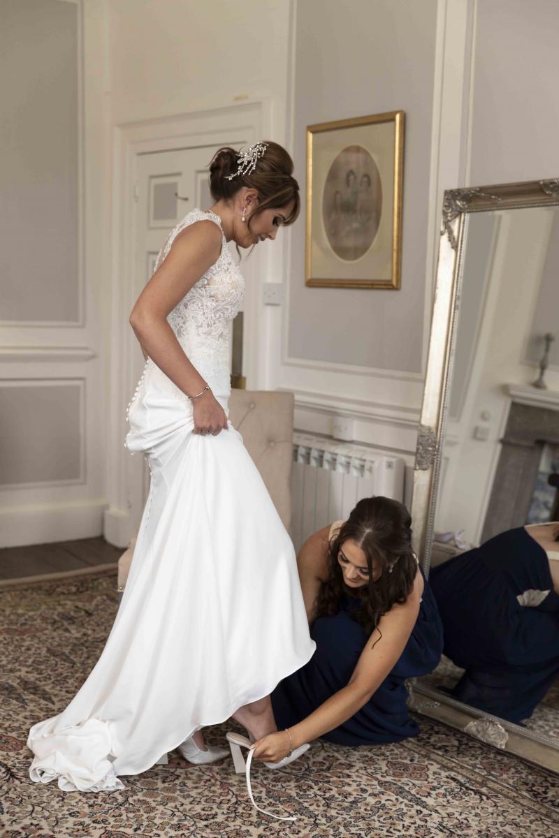 Tissington hall wedding photography 2